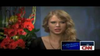 Taylor Swift - CNN-Connect The World Interview 19/11/09.