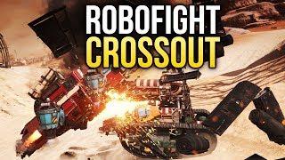 Crossout Robofight: САМУРАЙ vs УБОРЩИК