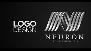Professional Logo Design - Adobe Illustrator cs6 (Neuron)