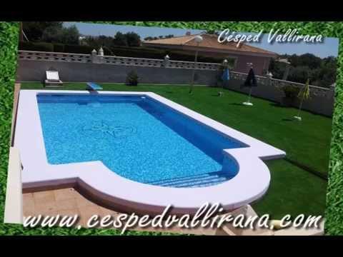 C sped artificial para piscinas precios c sped artificial for Piscinas de plastico para ninos