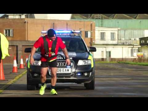 UK volunteer medic sets car pull world record
