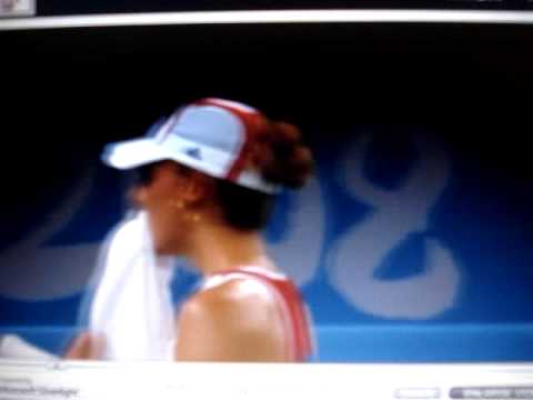 Beijing 2008- Serena VS Cornet & Venus VS Azarenka