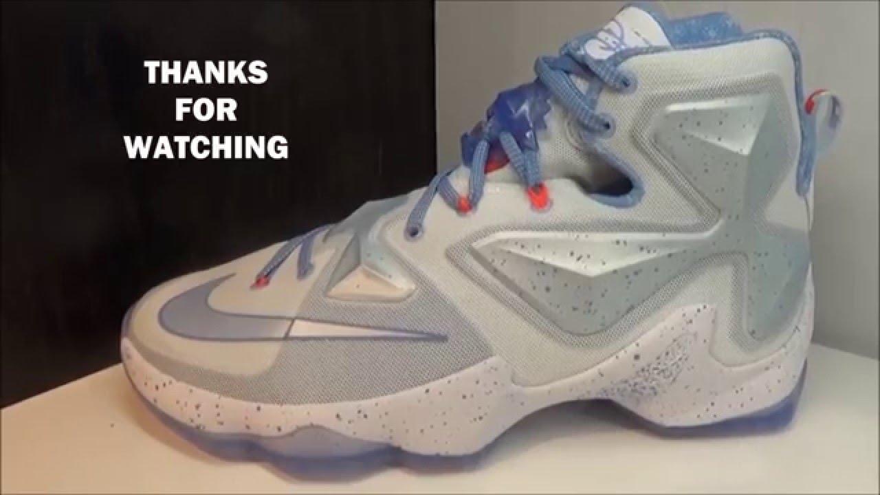 Nike Lebron 13 Xmas Sneaker - YouTube