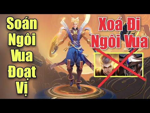 Nakroth Soán ngôi vua đoạt vị thần sấm - Test siêu phẩm Lôi quang sứ liên quân mobile