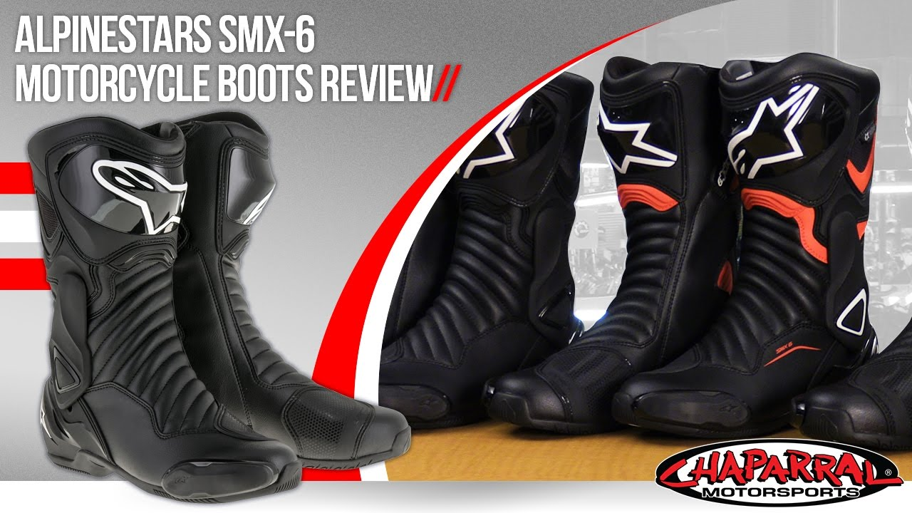 alpinestars smx 6 v2 motorcycle boots review