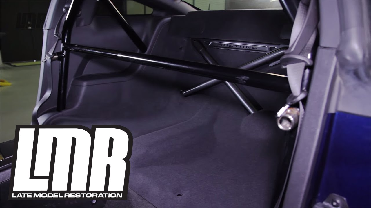 Mustang Ford Performance Rear Seat Delete Install 2005