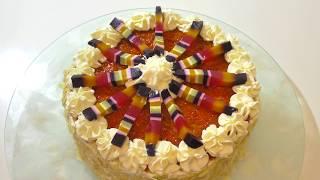 Оооочень вкусный торт. Very delicious cake.