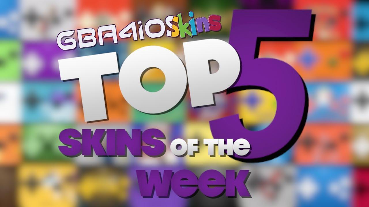 GBA4iOSkins com Top 5 Skins of the Week 1! (GBA4iOS 2 0