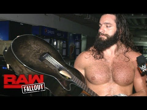 Elias Samson shows no remorse after striking Finn Bálor with his guitar: Raw Fallout, July 17, 2017