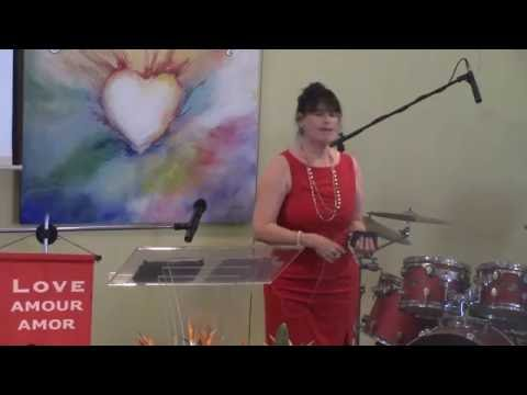 """Center of the Heart - Rev Maryum Morse Sunday, 08/07/16 talk """"There Is A Soul In There..Somewhere!"""""""