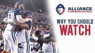 Why You Should Watch the AAF (Alliance of American Football)
