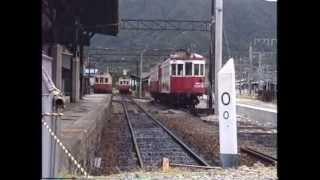 廃止間際の野上電鉄 1