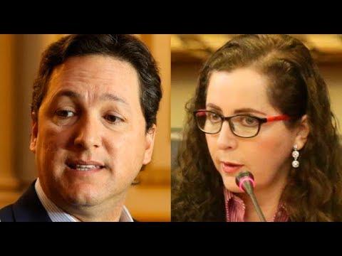 El enfrentamiento de Daniel Salaverry y Rosa Bartra por creación de bancadas | 90 Central