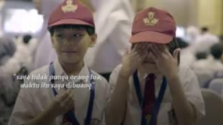 Suara anak-anak penerima Kartu Indonesia Pintar di JIExpo, Kemayoran, Jakarta