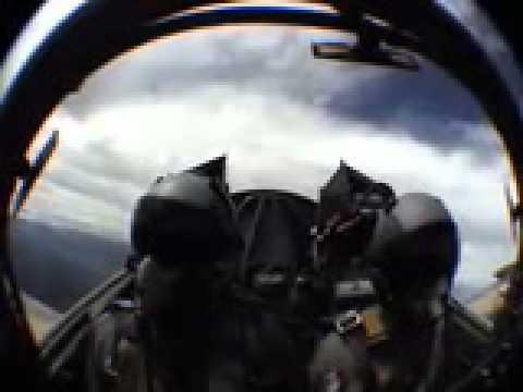 Flying in a Fighter Jet in Australia