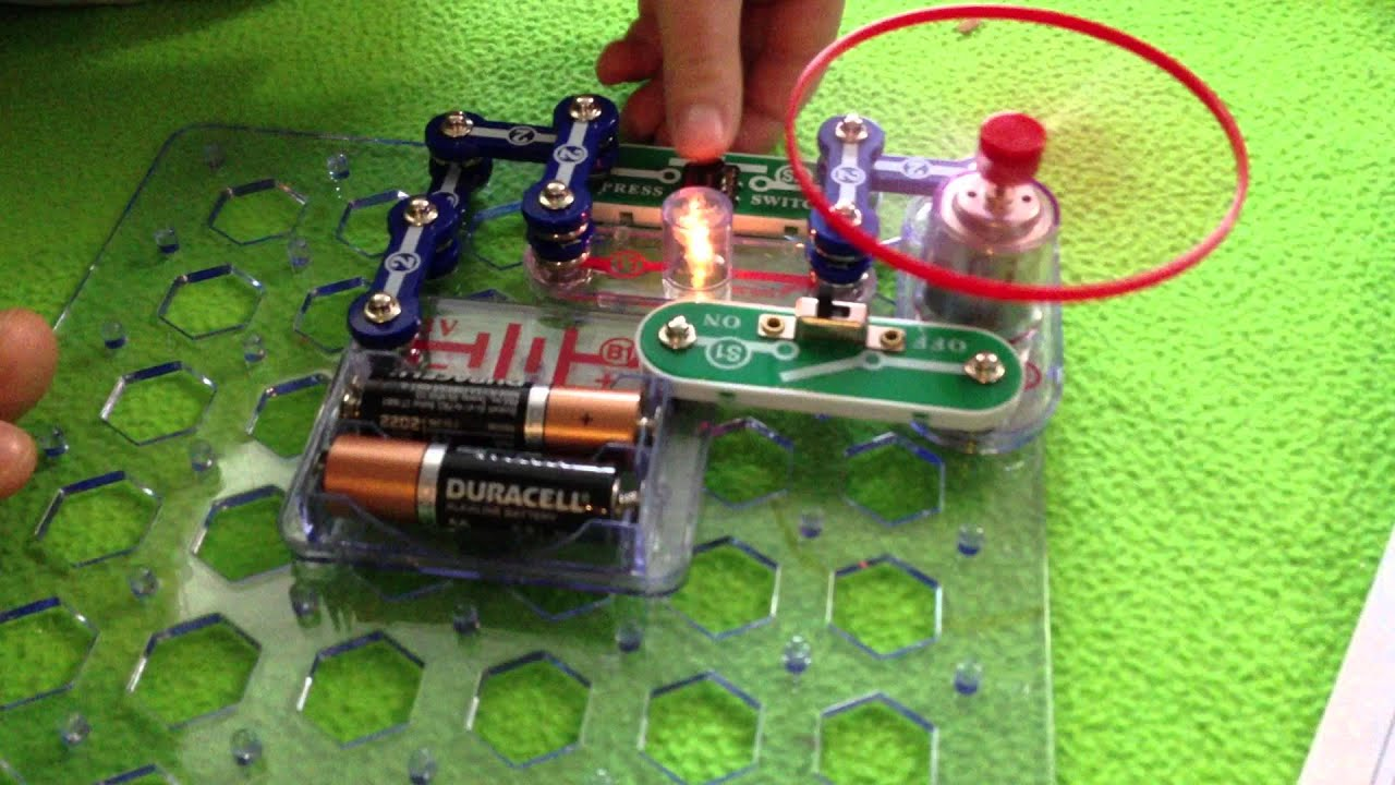 Jack's First Electric Circuit Project :)