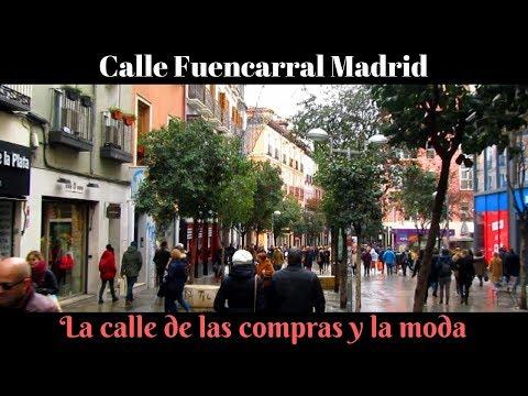 La Calle de la Moda y las compras en Madrid: Fuencarral | Fashion and shopping in Madrid