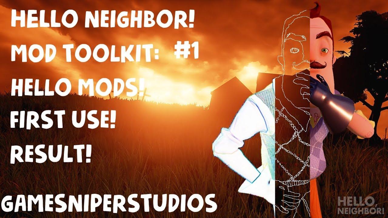 Installing Hello Neighbor Mod Kit