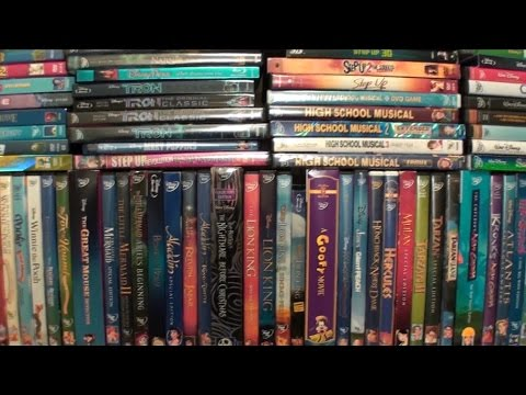 Disney Movie Collection Update (2014)