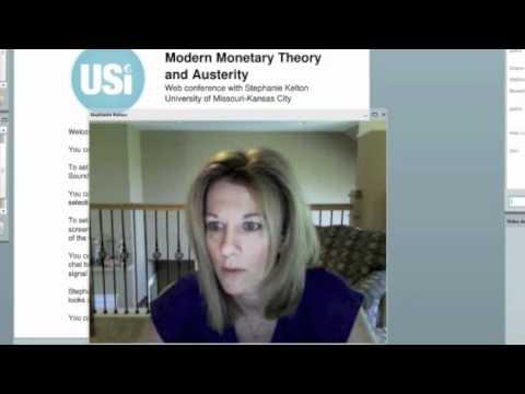 Stephanie Kelton on Modern Monetary Theory