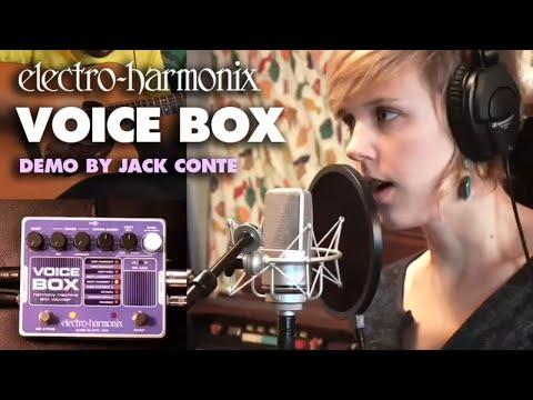 Voice Box - Video by Jack Conte - Vocal Harmony Machine/ Vocoder