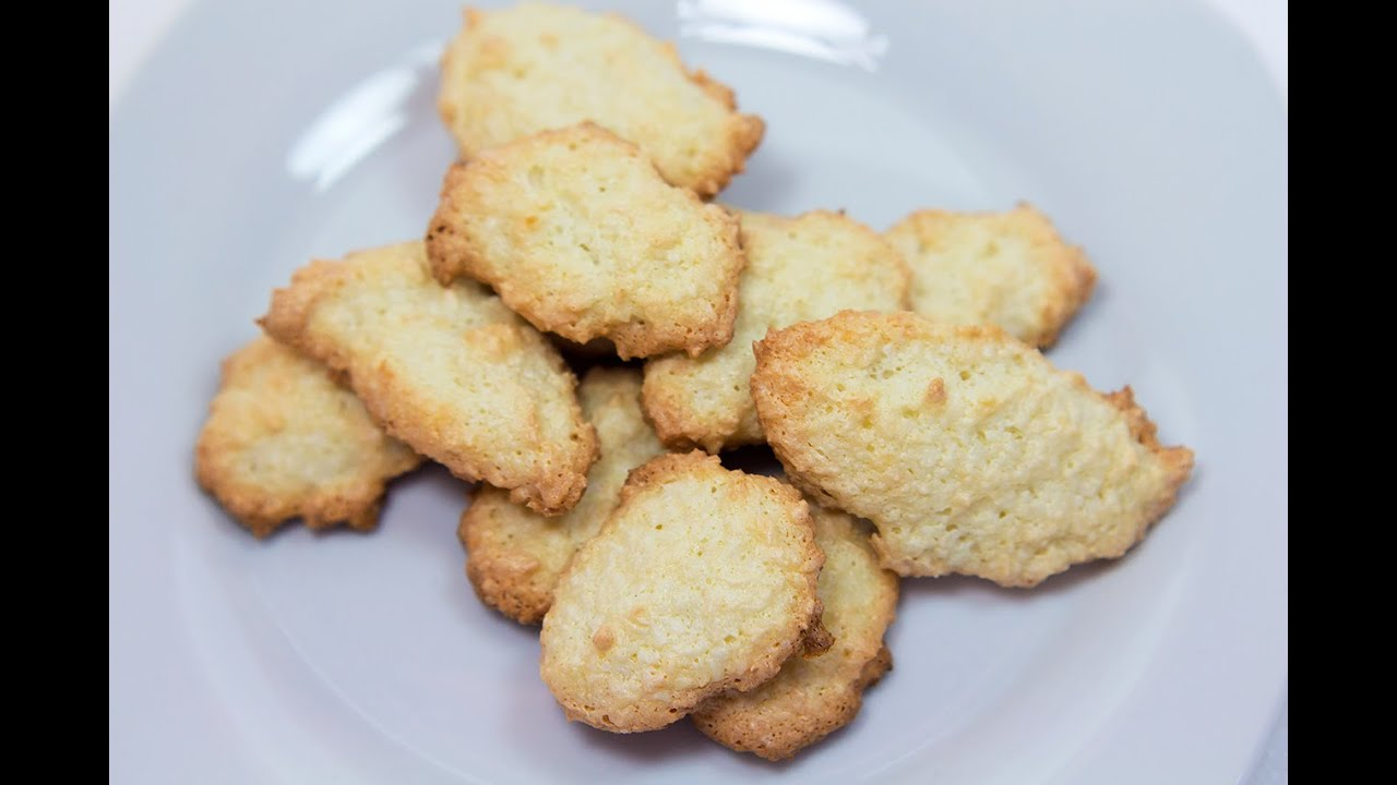 Кокосовое печенье \ Простое кокосовое печенье \ Как приготовить печенье