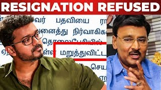 SARKAR CONTROVERSY: Bhagyaraj Resignation Rejected by South Indian Film Writers Association