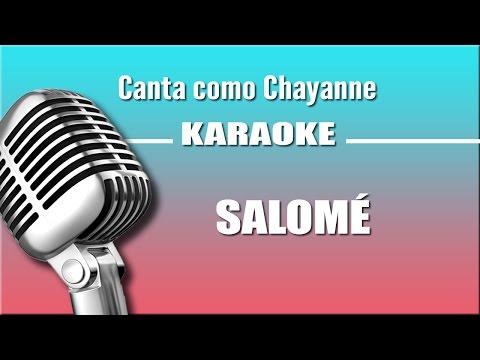 Chayanne - Salomé - Karaoke Vision
