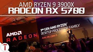 AMD Radeon RX 5700 e Ryzen 9 3900X