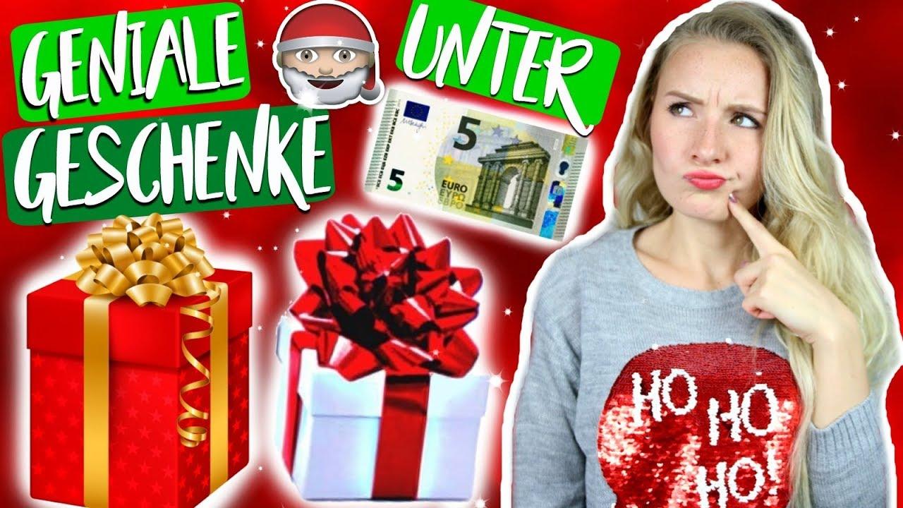 PERFEKTE WEIHNACHTSGESCHENKE UNTER 5€ FÜR JEDEN! Geschenke für ...