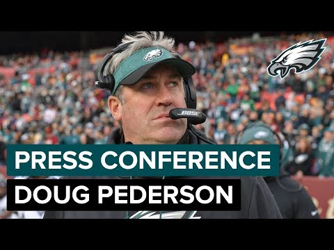 Doug Pederson: Nick Foles To Start vs. Chicago | Eagles Press Conference