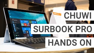 Chuwi SurBook Pro Hands On & First Impressions