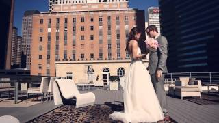 Watermark Church wedding film {Dallas wedding video}