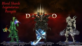 Diablo 3 Reaper of Souls Best way to farm blood shards on console.  Multiple controllers required