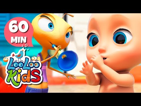 Cantec nou:  Musical Instruments + More Educational Songs for Kids | LooLooKids