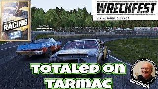 Totaled on Tarmac - Wreckfest Career Mode #10