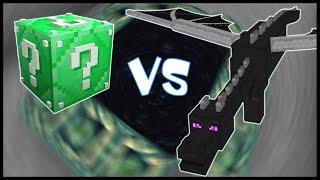 Изумрудный Лаки Блок VS Эндер Дракон! - Лаки Битва #12