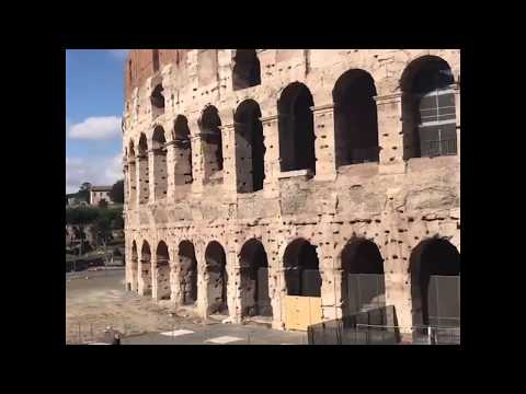 Colosseum, airport and more popular places nearly deserted amid coronavirus concerns | ABC News