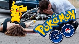 10 TERRIBLE ACCIDENTS due to POKEMON GO!! - Best Top10s
