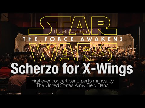 Scherzo for X-Wings | Performed LIVE by the U.S. Army Field Band