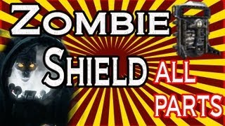 """Origins"" How To Build Zombie Shield"" Find All Parts! Black Ops 2 Origins Gameplay!"