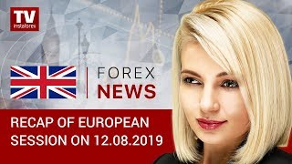 InstaForex tv news: 12.08.2019: Trader focus on Italy (EUR, USD, GBP, GOLD, CHF)