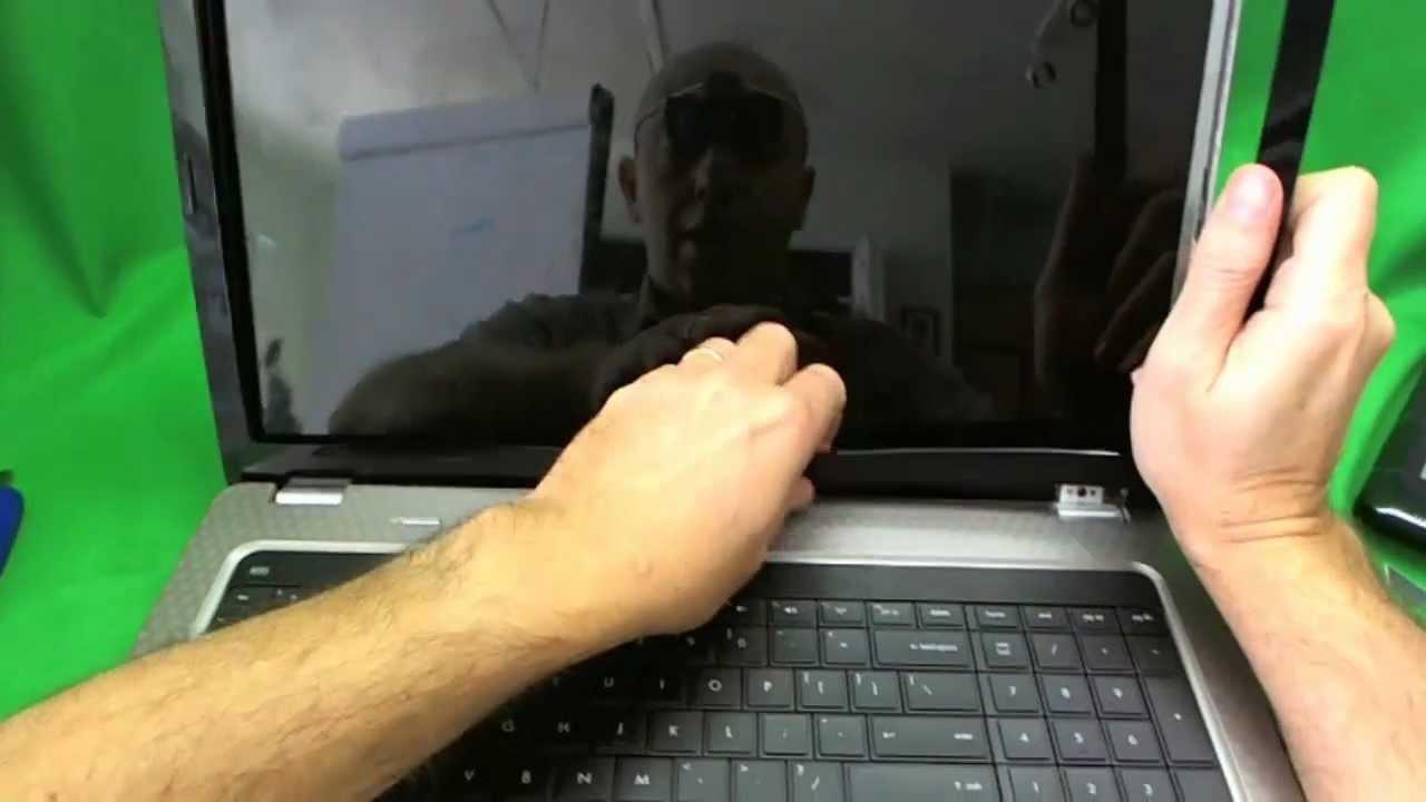 Procedimiento de reemplazo de pantalla para ordenador portátil HP ...