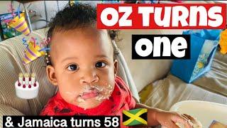 Oz Turns 1yr Old & Jamaica Turns 58yrs