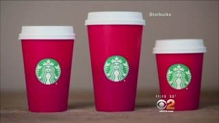 """""""War on Christmas"""" Brewing Over Starbucks' Holiday Red Cups"""