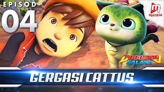 BoBoiBoy Galaxy EP04 | Gergasi Cattus/ Cattus the Cute Monster (ENG Subtitles)