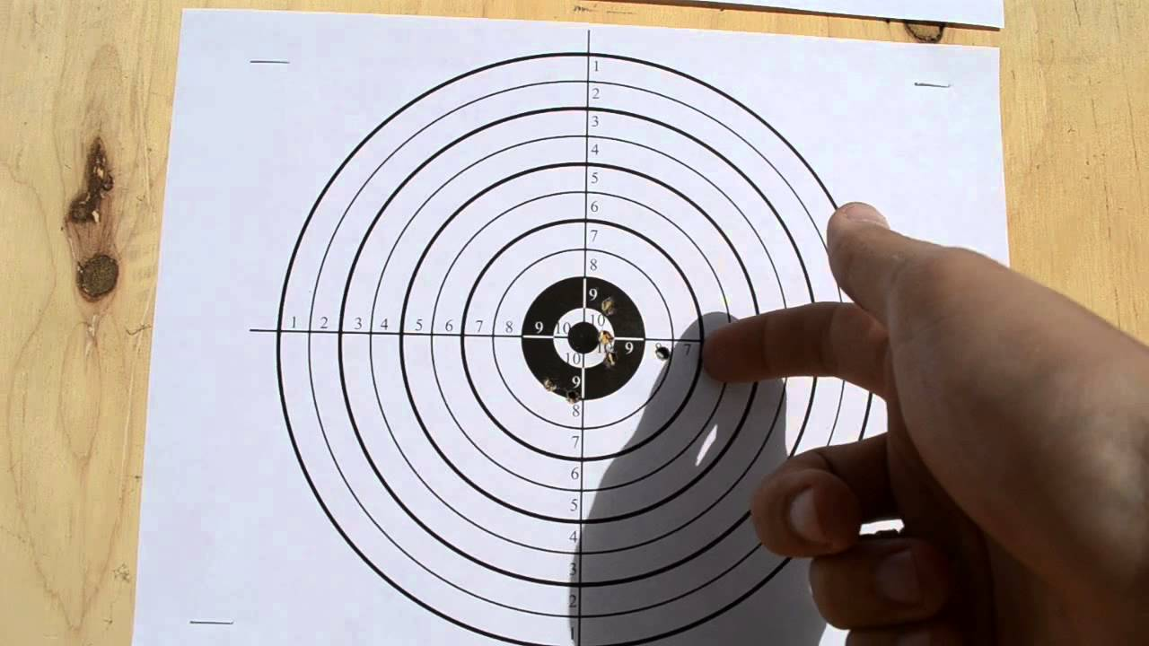 Winchester 1100WS  177 Adjusting 4x32 Scope at 10 meters with Gamo Rocket  Superior Ammo part 3/3