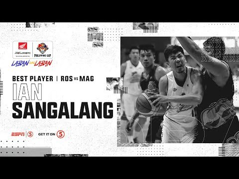 Best Player: Ian Sangalang | PBA Philippine Cup 2019 Semifinals