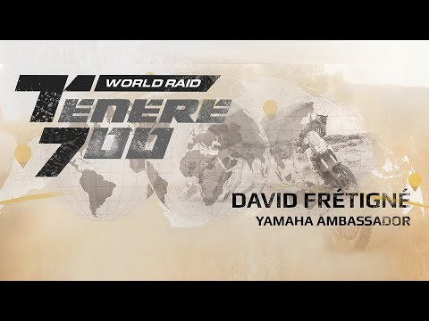 Yamaha Ténéré  World Raid | European Stage - David Frétigné