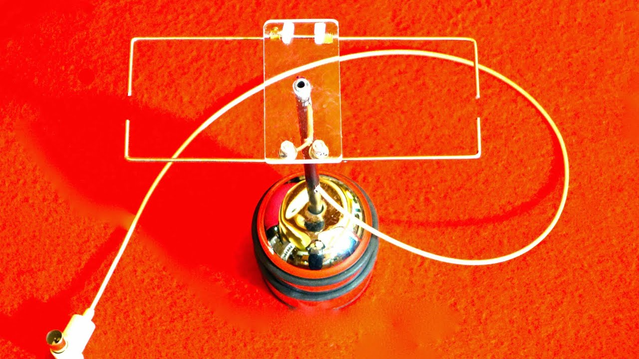 dvbt selbstbau antenne mit hohem gewinn deutsch youtube